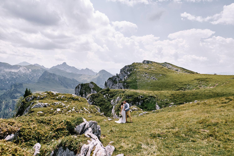 Berghochzeit Schweiz